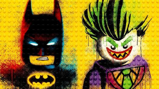 乐高蝙蝠侠和Jokar壁纸