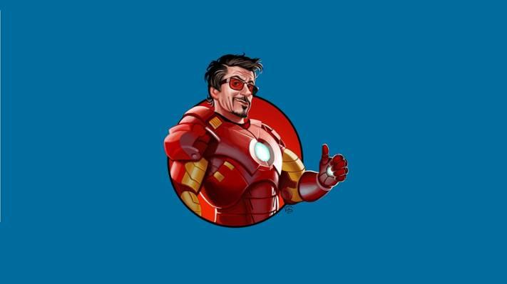 安东尼·爱德华托尼·斯塔克,钢铁侠,钢铁侠,艺术,超级英雄,极简主义,极简主义,安东尼·爱德华·托尼