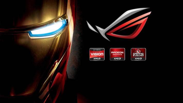 铁人,品牌,华硕,高科技,品牌,托尼·斯塔克,面具,公司,钢铁侠,标志
