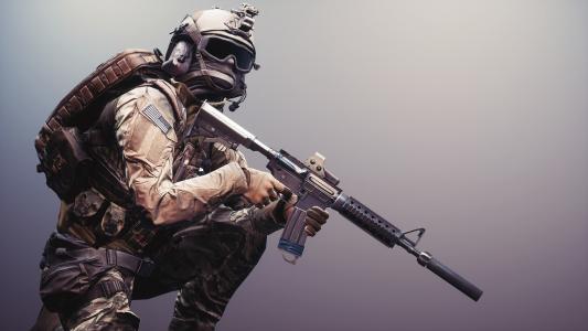 战地4,士兵,武器,装备壁纸