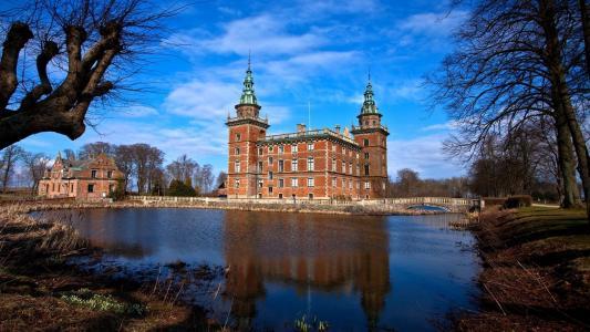 可爱的瑞典城堡壁纸