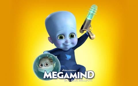 Megamind儿童壁纸