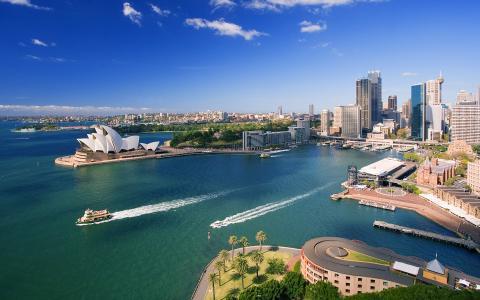 悉尼惊人的高分辨率照片壁纸