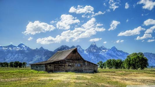 完美怀俄明州景观壁纸