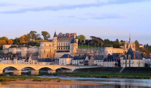 法国、Amboise、城堡壁纸