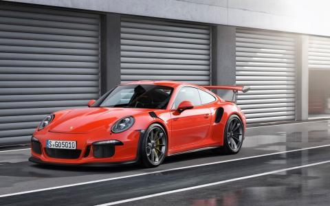 2015保时捷911 GT3 RS 4汽车高清壁纸