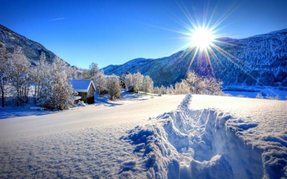 高清雪景图片大全