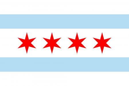 芝加哥国旗壁纸