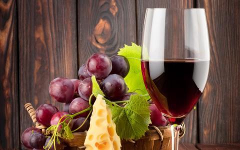 纯红葡萄酒壁纸