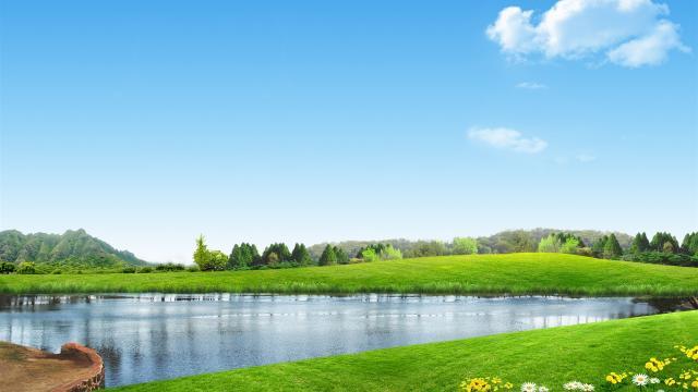 绿色风景图片壁纸