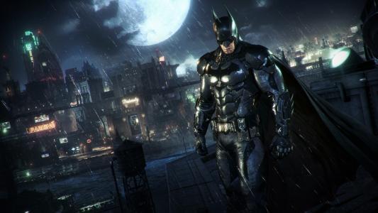 蝙蝠侠阿甘骑士电子游戏壁纸