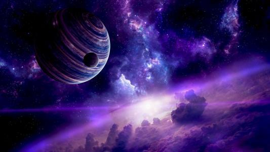 地球空间壁纸