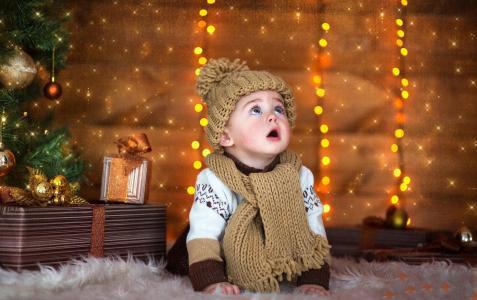 礼品章儿童新年宝宝孩子手机壁纸