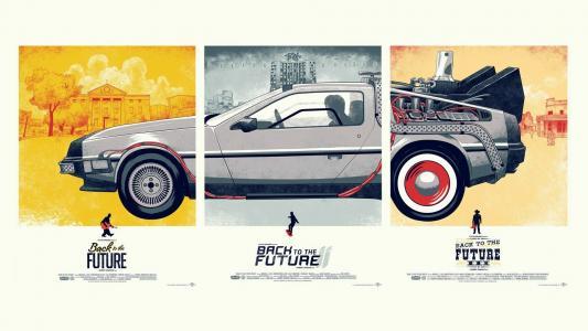 DeLorean三电影高清壁纸