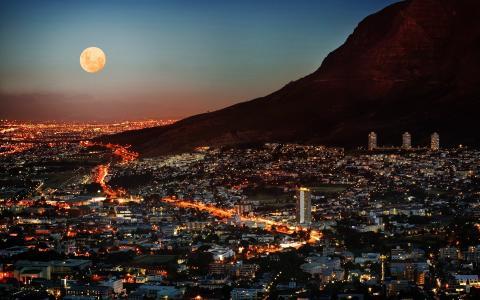 南非晚上壁纸