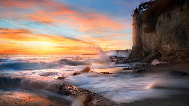 美国加州自然风光壁纸