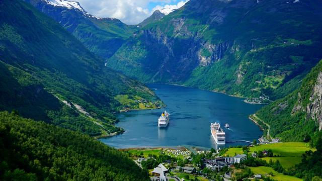 挪威旅游风景壁纸图片