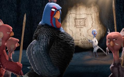 自由鸟,卡通电影壁纸