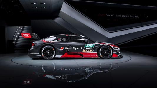 2018奥迪RS 5 Coupe DTM 4ksimilar汽车壁纸壁纸