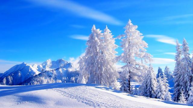唯美高清雪景大图