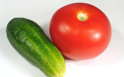 黄瓜和番茄壁纸
