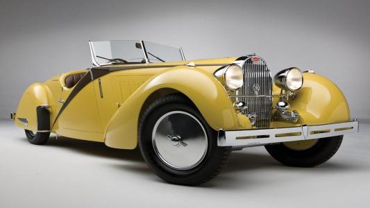 布加迪57型跑车壁纸1937