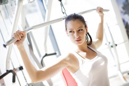 健身房锻炼妇女壁纸