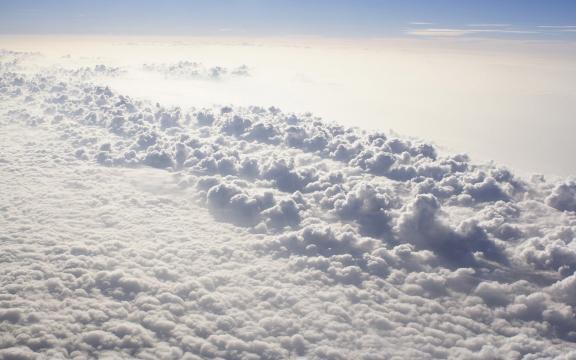 唯美天空云层图片壁纸