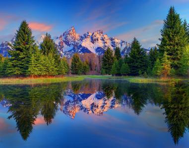 大蒂顿国家公园,怀俄明州壁纸
