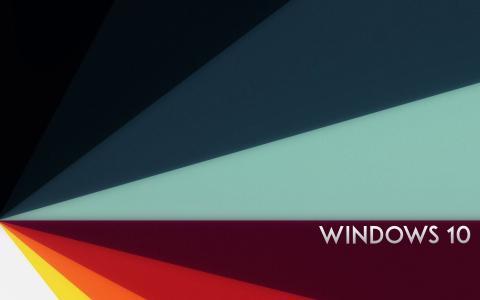 Windows 10,抽象背景壁纸