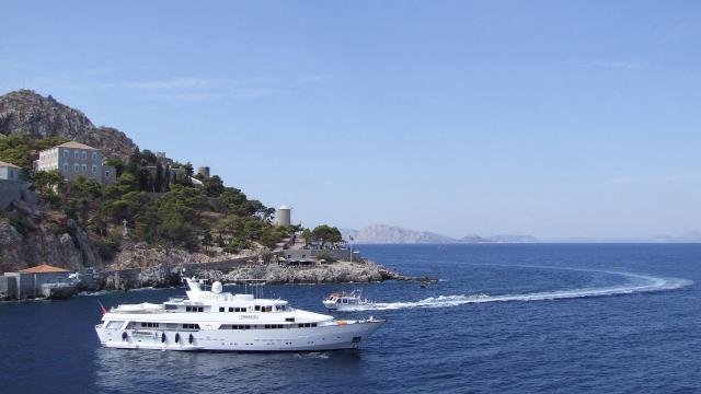 希腊爱琴海旅游风景图片
