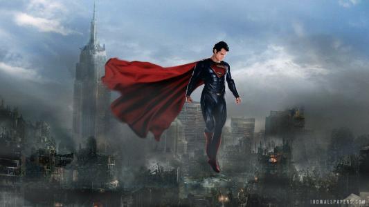 钢铁壁纸中的超人