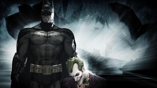 蝙蝠侠与小丑高清壁纸