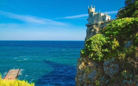 岩石壁纸城堡