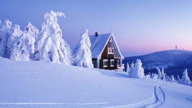 冬季高清雪景壁纸