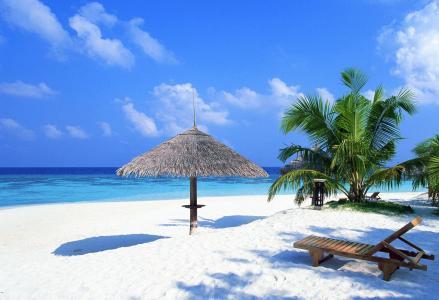 宿务岛海滩免费高清宽屏壁纸