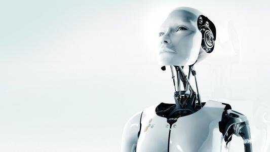 原始机器人3d高清壁纸