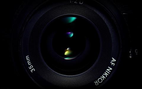 最佳相机镜头背景桌面壁纸