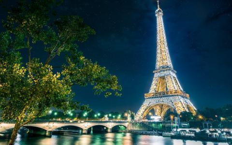 巴黎艾菲尔铁塔2014年壁纸