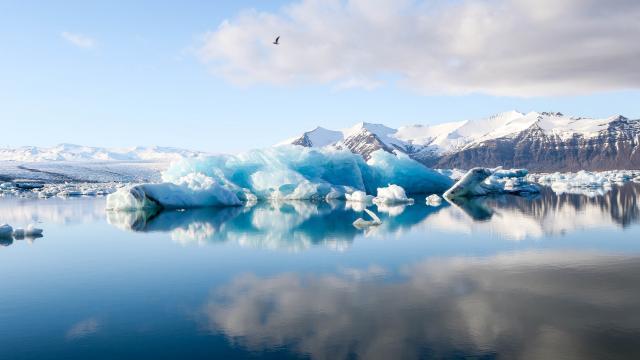 高清冰川图片