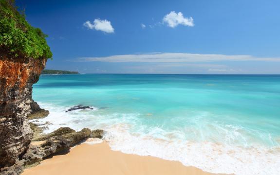 美丽的海岸风景图片