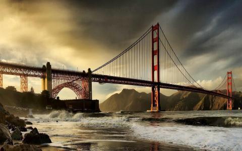 旧金山海湾大桥壁纸