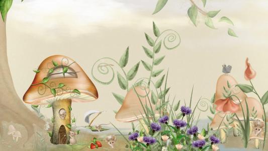 童话老鼠壁纸