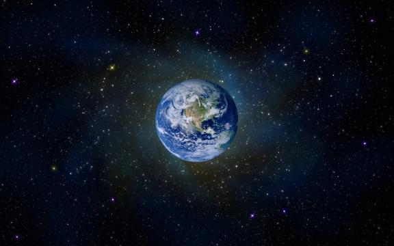 太空地球照片高清壁纸