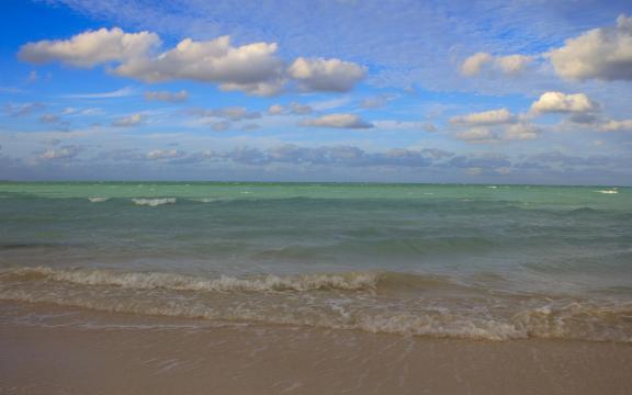 美丽的加勒比海岛风景