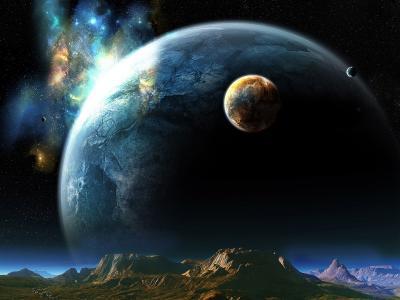巨大的星球高清壁纸