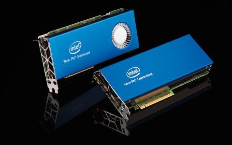 超级计算机核心硬件,英特尔协处理器卡壁纸