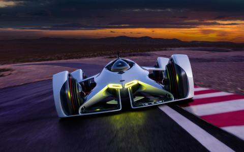 2014雪佛兰丛林2x视觉Gran Turismo概念车高清壁纸