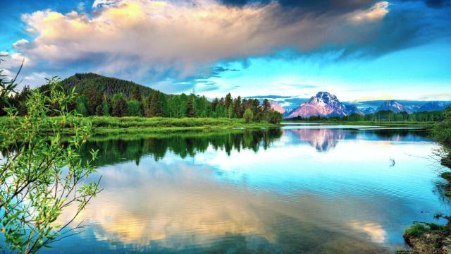 唯美好看的蓝色风景图片大全