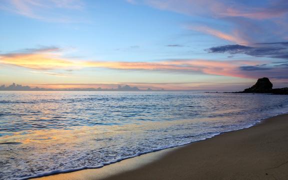 海岸风景线壁纸